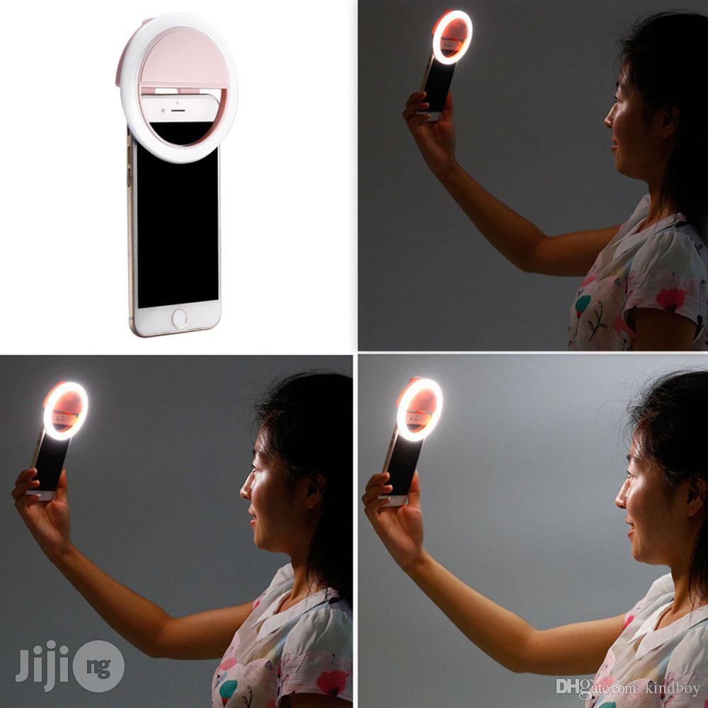 Mobile Phone Telescope + Camera Lens 3-in-1 & Selfie Light