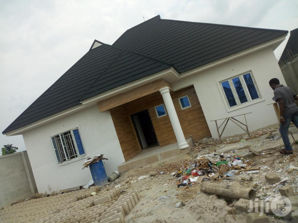 Brand New 3bedroom Bungalow In A Serene Environment With Good Access Rd At Ogbogoro Off Ozuoba For Sale