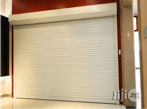 White Perforated Rolling Shutters Garage Door | Doors for sale in Lagos State, Yaba