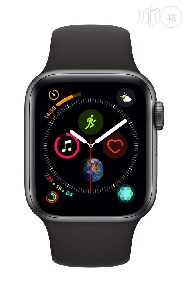 Apple Watch Series 4 (GPS + Cellular, 44mm) - Space Gray   Smart Watches & Trackers for sale in Ikoyi, Lagos State, Nigeria