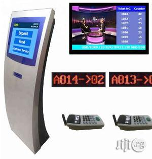 Wireless/Wired Queue Management System With IR Touch Screen | Store Equipment for sale in Lagos State, Yaba