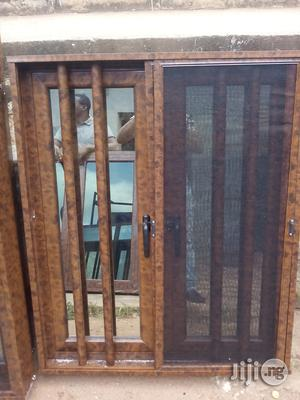 4ft By 4ft Aluminum Casement Window With Protector   Windows for sale in Enugu State, Enugu