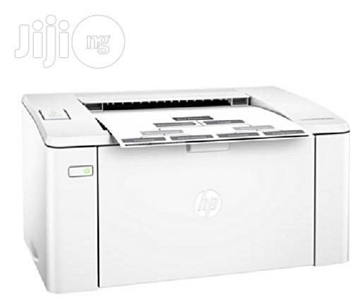 Archive: HP Laser Jet Pro M102a Printer -white