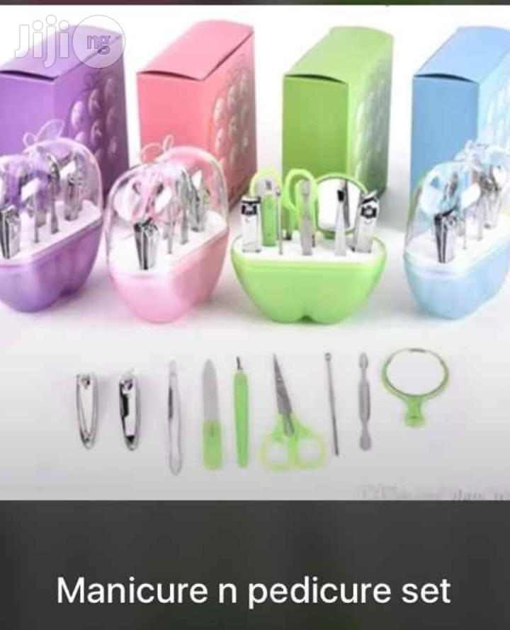 Pedicure And Manicure Set | Tools & Accessories for sale in Surulere, Lagos State, Nigeria