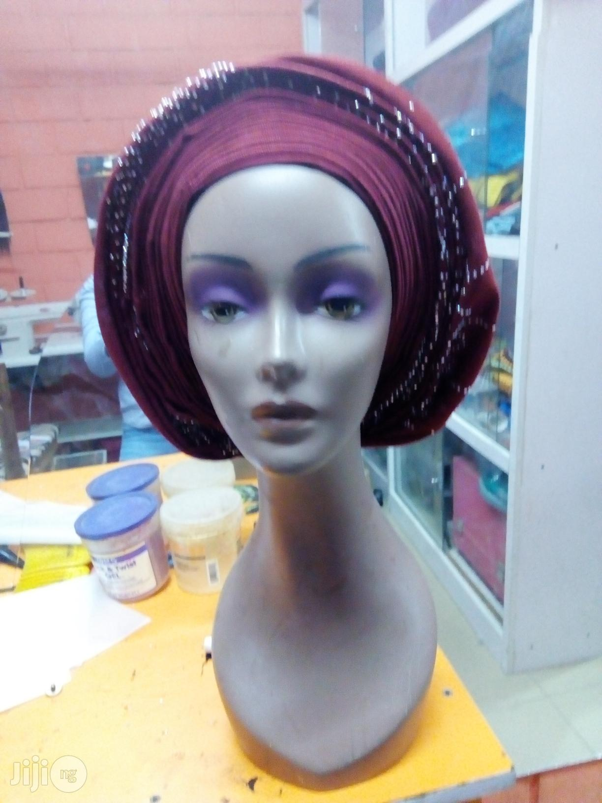Auto Gele/ Classy Type.   Clothing for sale in Garki 2, Abuja (FCT) State, Nigeria