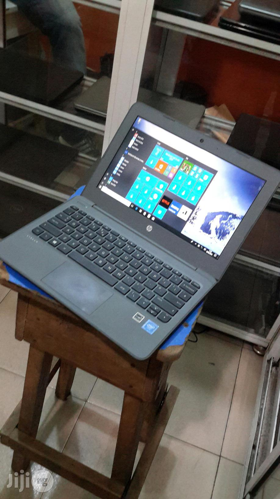 Laptop HP Stream Laptop 4GB Intel Celeron SSD 60GB | Laptops & Computers for sale in Ikeja, Lagos State, Nigeria