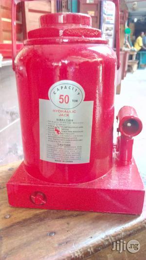 Hydraulic Bottle Jack 50ton | Hand Tools for sale in Lagos State, Lagos Island (Eko)