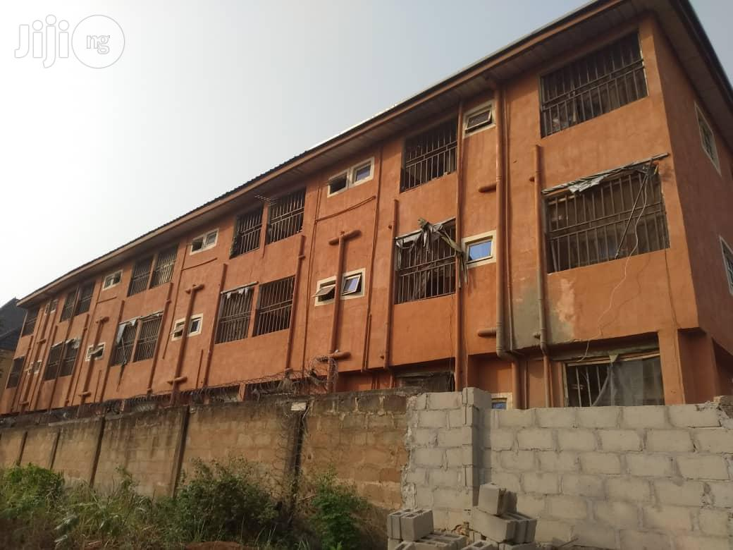 55 Room Selfcontain For Sale At Igbariam Campus