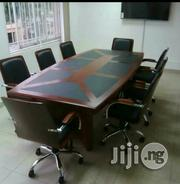Wooden Office Confrence Table With Quality Wooden Chair | Furniture for sale in Zamfara State, Gusau