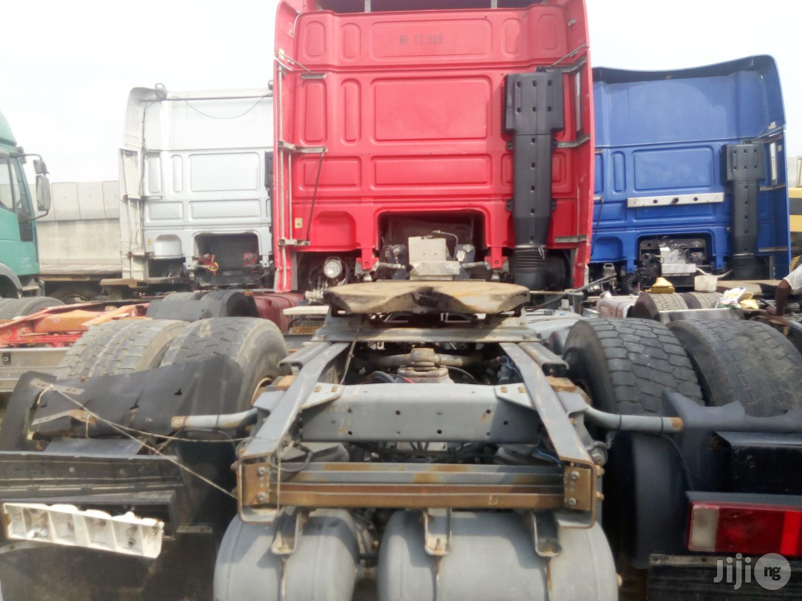 95xf Daf Trailer Head 2010 | Trucks & Trailers for sale in Amuwo-Odofin, Lagos State, Nigeria
