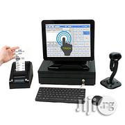 ALL IN ONE POS Touch Screen Computer + Cash Drawer + Receipt Printer + Barcode Scanner + POS Software + Mobile Report Alert   Store Equipment for sale in Lagos State, Ikeja