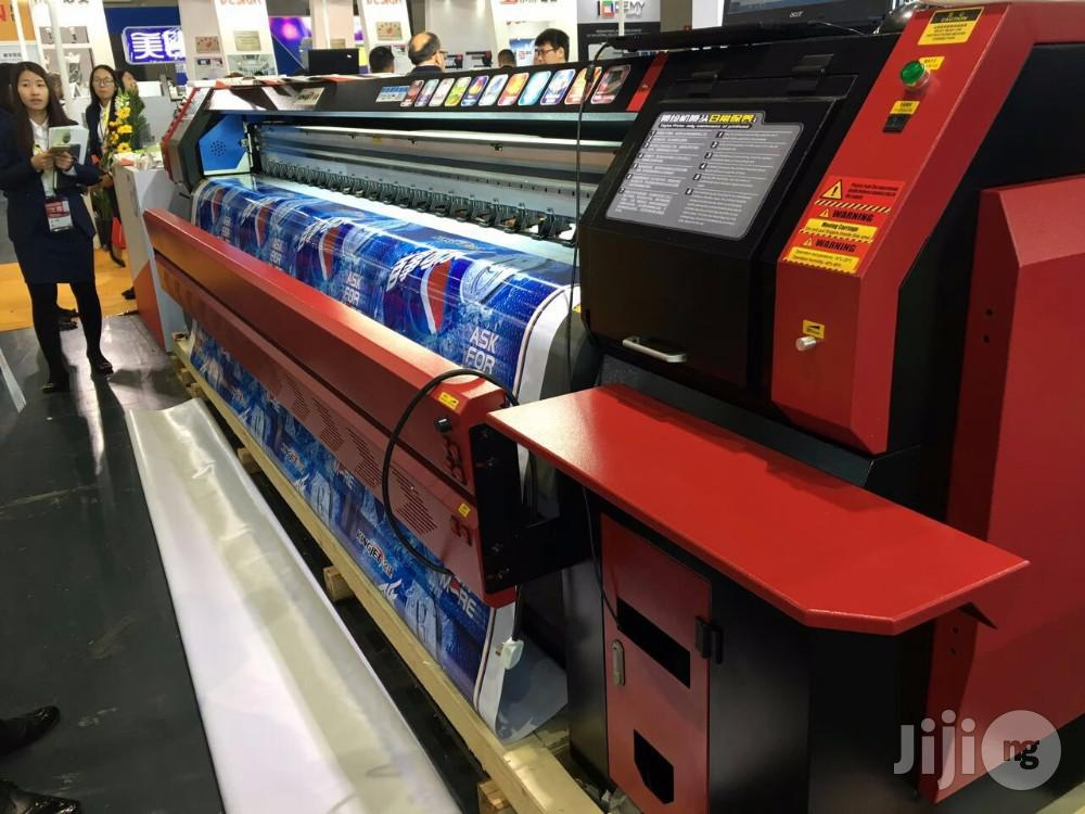 10 Ft Kingjet Large Format Machine | Printing Equipment for sale in Ikeja, Lagos State, Nigeria