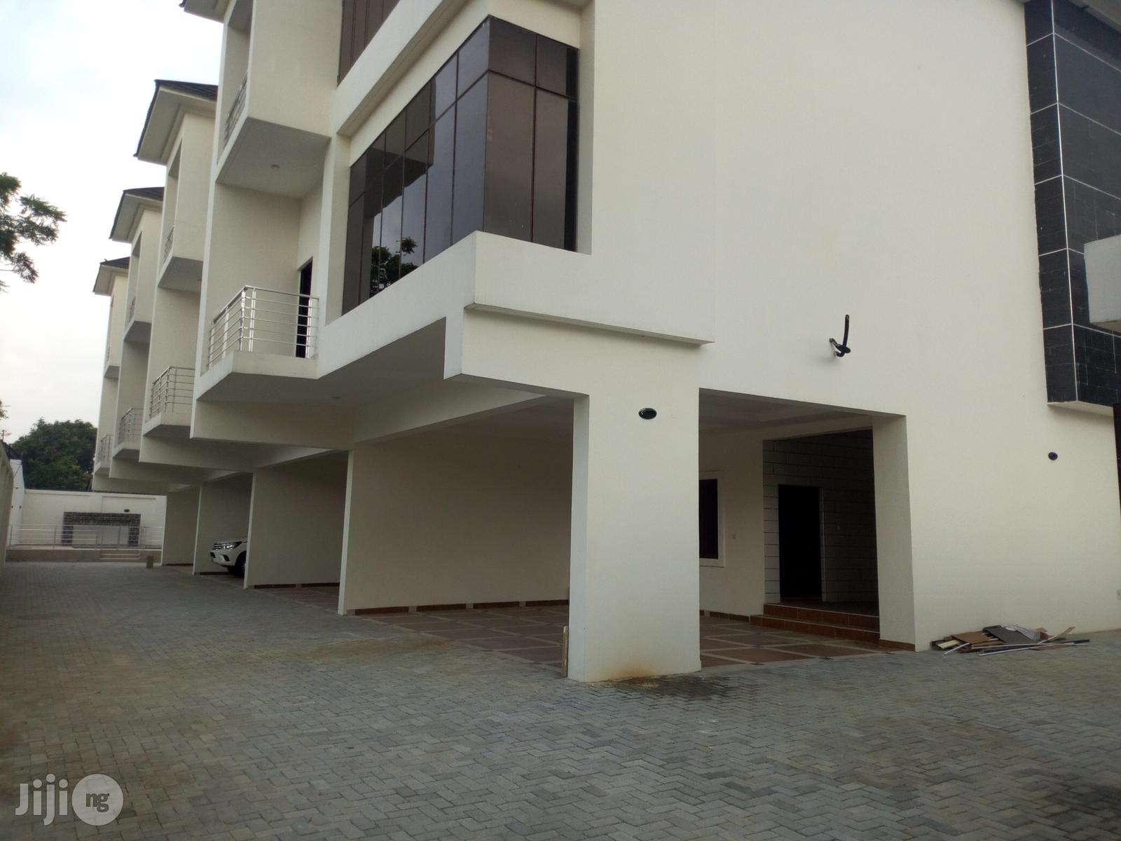 Newly Built 4 Bedroom Townhouse With an Attached Boys Quarters on 3 Split Floors Off Bishop Aboyode Cole Street, Victoria Island, Lagos.