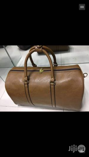 Pure Leather Traveling Bag | Bags for sale in Lagos State, Lagos Island (Eko)