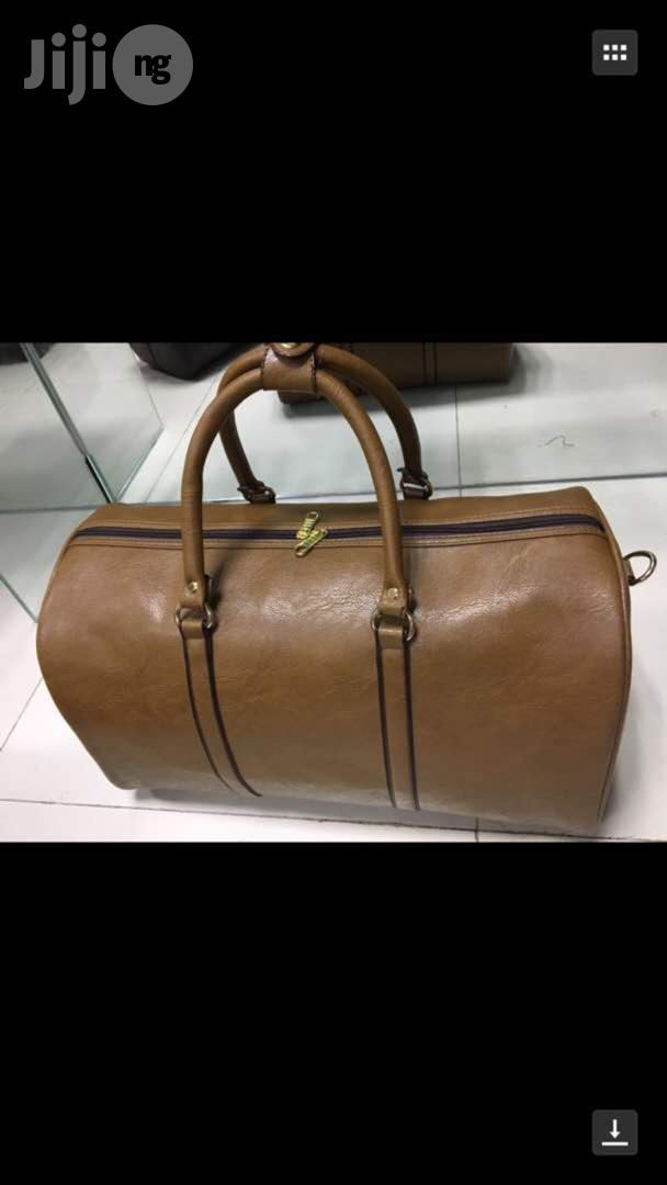 Pure Leather Traveling Bag