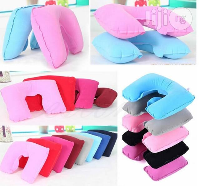 Inflatable Travel Pillow | Massagers for sale in Mushin, Lagos State, Nigeria