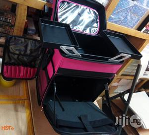 Makeup Trolley Box [Pink]   Tools & Accessories for sale in Lagos State, Amuwo-Odofin