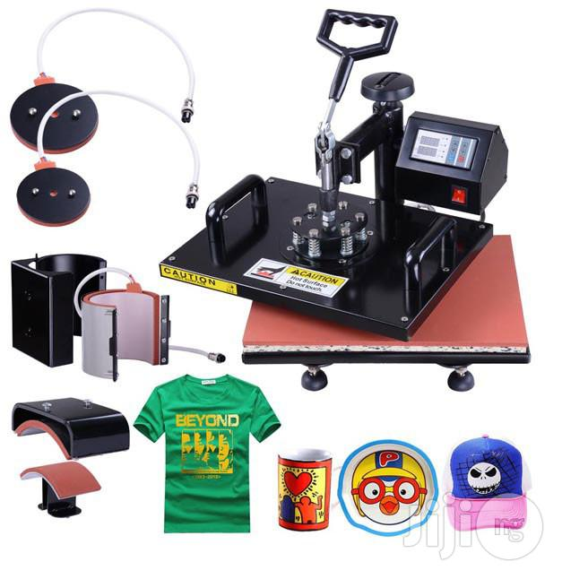 Multifuntion Heat Press Machines | Printing Equipment for sale in Ikeja, Lagos State, Nigeria