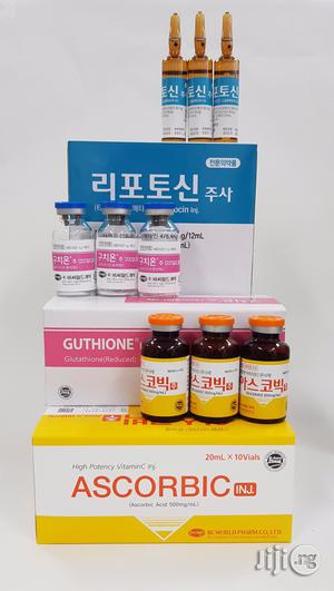 Korean White Advanced Glutathione Injection   Vitamins & Supplements for sale in Lagos State, Ojo