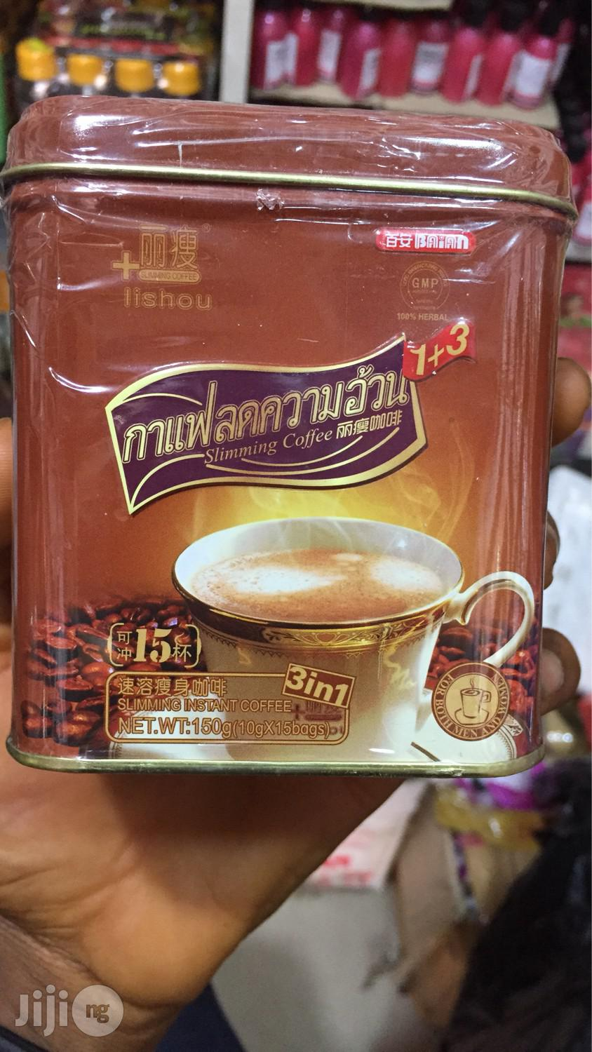 Archive: Lishou Instant Slimming Coffee