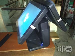 Hybrid All-in-one POS Machine 128gb Ssd, 4gb Ram Touch Screen Dual Screen   Store Equipment for sale in Lagos State, Ikeja