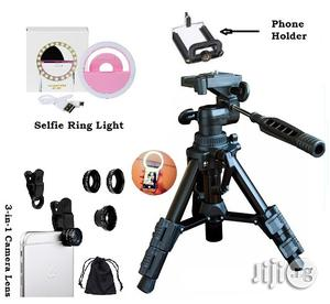 Mini Tripod Stand For Video Camera Free Selfie And Telescope   Accessories & Supplies for Electronics for sale in Lagos State, Ikeja