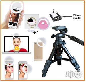 Selfie Ring Light With Mini Portable Tripod Camera / Video Stand | Accessories & Supplies for Electronics for sale in Lagos State, Ikeja