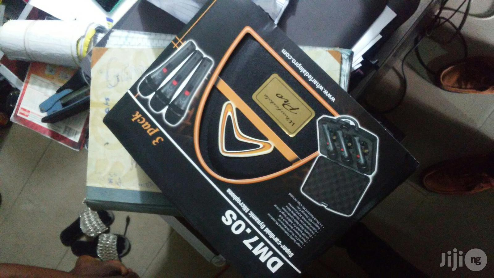Wharfedale 3in1 Mic   Audio & Music Equipment for sale in Ojo, Lagos State, Nigeria