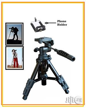 Mini Tripod Stand With Phone Holder | Accessories for Mobile Phones & Tablets for sale in Lagos State, Ikeja
