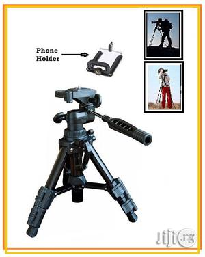 Portable Tripod Stand for Camera/ Video With Holder | Accessories & Supplies for Electronics for sale in Lagos State, Ikeja