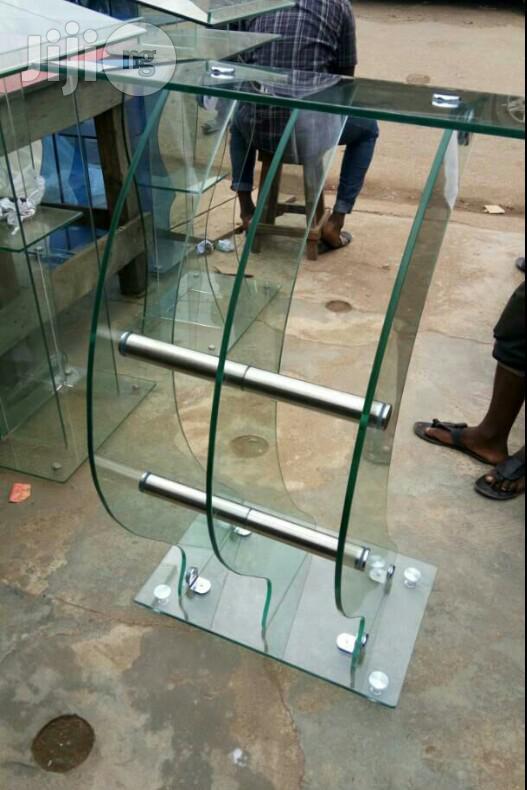 Archive: Glass Pulpit / Podium / Altar