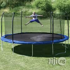 Brand New 15ft American Trampoline With Net   Sports Equipment for sale in Rivers State, Port-Harcourt