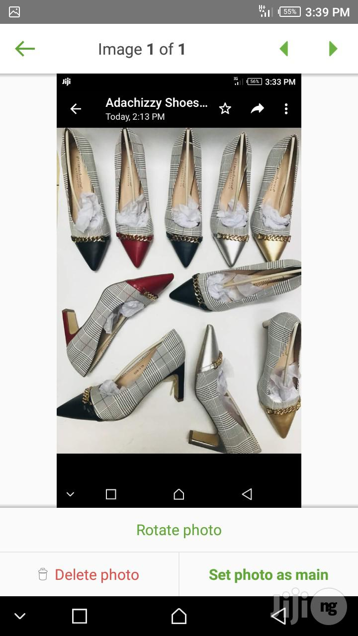 Females Office Shoes 3 Inches Block Heel | Shoes for sale in Lagos Island (Eko), Lagos State, Nigeria