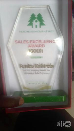Acrylic Award With Printing | Arts & Crafts for sale in Lagos State, Maryland