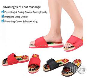 Massage Slippers Health Care Blood Activating Foot Relaxation Massager Shoes   Massagers for sale in Lagos State, Mushin