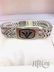 Emporio Armani Silver Bracelet Chain | Jewelry for sale in Lagos State, Lagos Island
