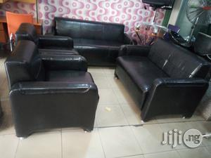 Unique 7 Seater Mini Leather Sofa Chair Brand New Impoterd | Furniture for sale in Lagos State