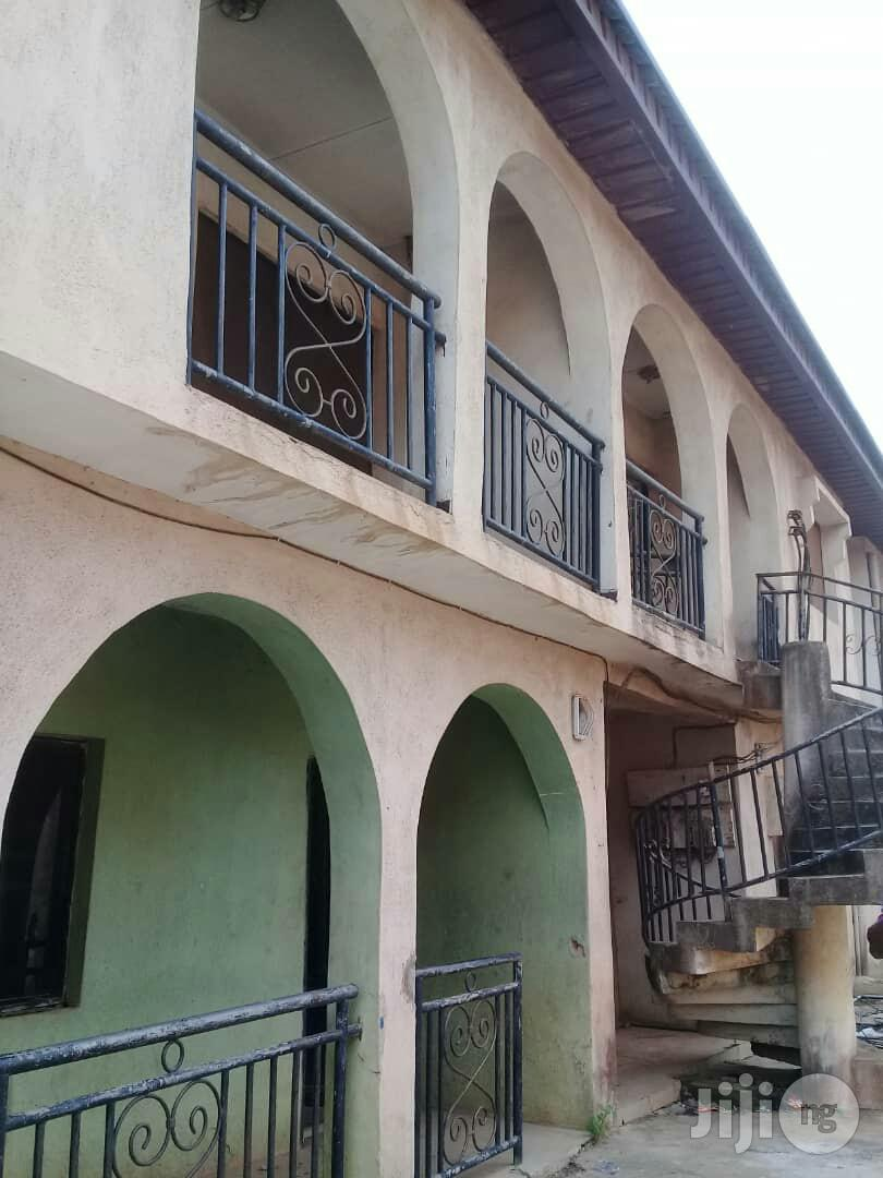 Neat 4 Units Of 3 Bedroom Flats With Shop For Sale At Crossing.