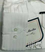 100% Pure White Shirt With Line by TM Martin | Clothing for sale in Lagos State, Lagos Island