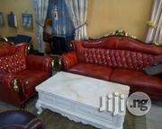 Imported Turkey Leather Sofa Chair. With Yers Guarantee | Furniture for sale in Lagos State, Ajah
