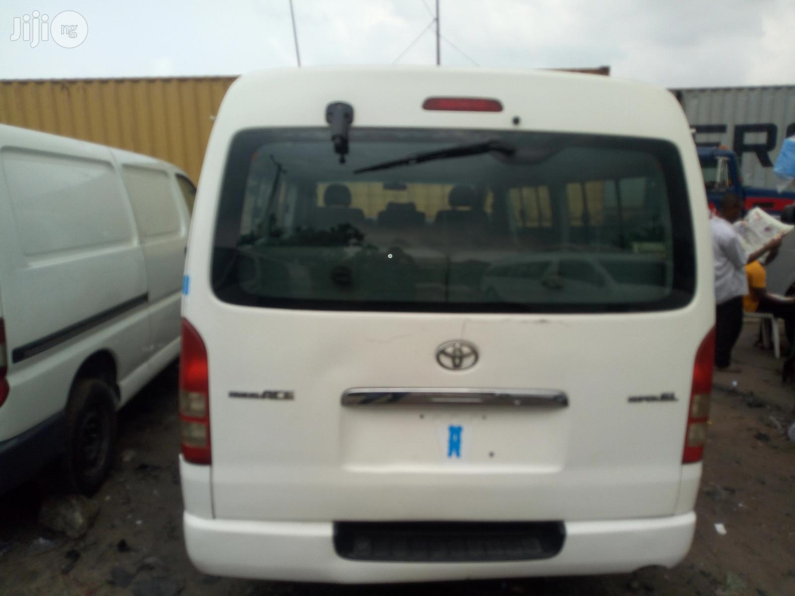 Toyota Hiace 2012 White | Buses & Microbuses for sale in Apapa, Lagos State, Nigeria