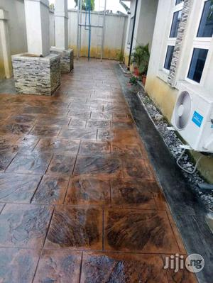 Stamped Floor | Building & Trades Services for sale in Delta State, Uvwie