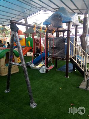 Buyers Urgently Needed For Outdoor Playhouse With Double Swing | Toys for sale in Lagos State