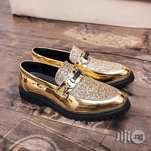 Men Gold Wedding Shoes   Wedding Wear & Accessories for sale in Lagos State, Alimosho