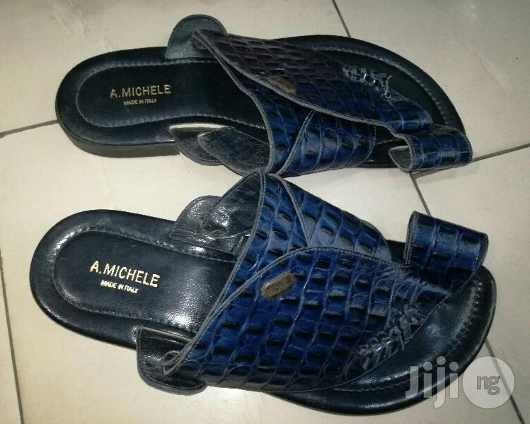 High Quality Leather Italian Brand Pam Sandal by A.Emichele | Shoes for sale in Lagos Island (Eko), Lagos State, Nigeria