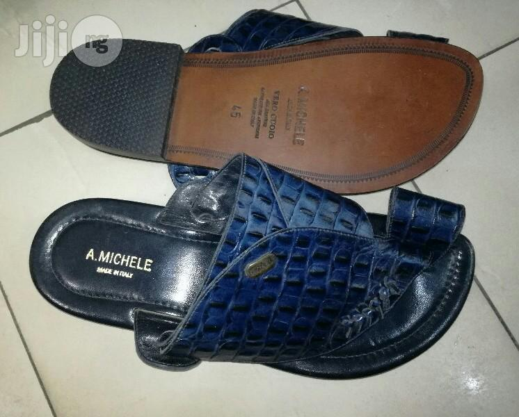 High Quality Leather Italian Brand Pam Sandal by A.Emichele