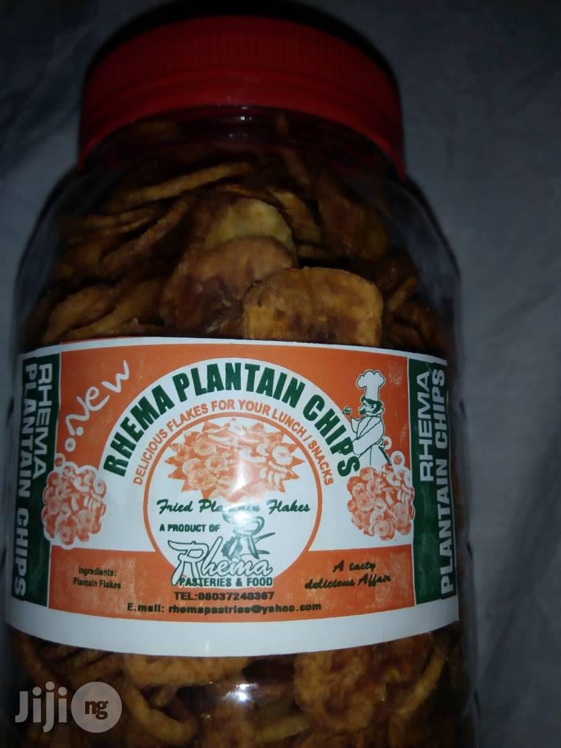 Rhema Plantain Chips Is A Tasty Chips Made | Meals & Drinks for sale in Ojodu, Lagos State, Nigeria