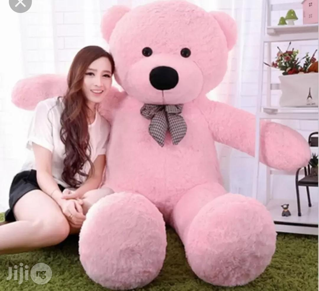 Teddy Bear Giant 5ft Pink. Valentine Gift, | Toys for sale in Ikeja, Lagos State, Nigeria