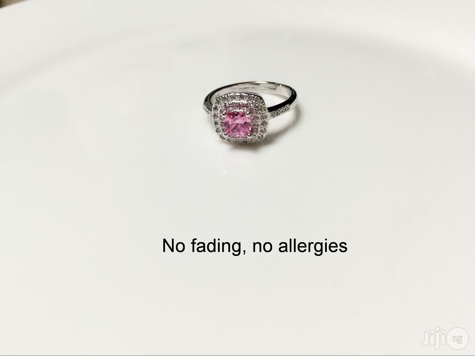 10%Discount on 925sterling Silver Adjustable Engagement Ring