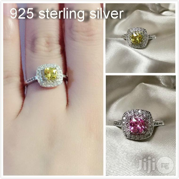 10%Discount on 925sterling Silver Adjustable Engagement Ring   Wedding Wear & Accessories for sale in Ojodu, Lagos State, Nigeria